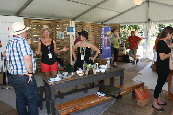 UniSA Tent at WOMADelaide by Josh Penley 2014