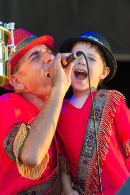Kids at WOMAD by Scott Hedges 2014